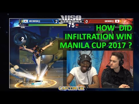 SFV - How Did Infiltration Win Manila Cup 2017 as Juri - Logan and Packz break it down