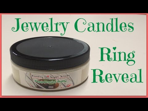 Jewelry Candles Ring Reveal - Peppermint Patty Sugar Scrub!