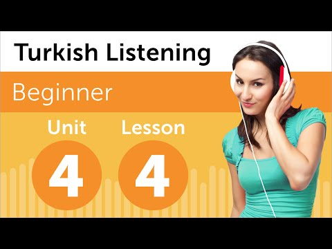 Turkish Listening Practice - What Time is it Now in Turkey?