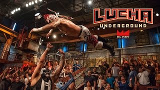 This Is Lucha Underground w/ Exec. Producer Mark Burnett
