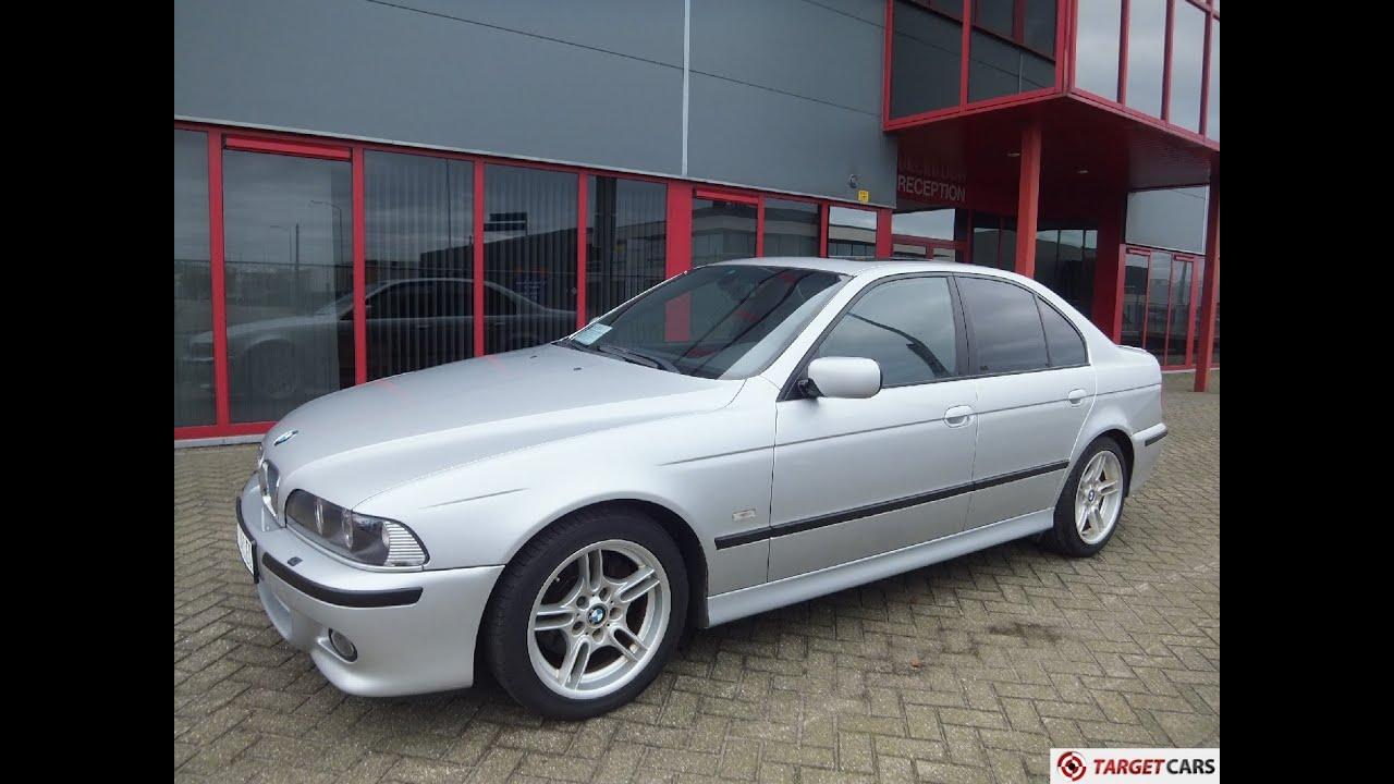 750206 BMW 530I E39 SEDAN 3.0L 231HP AUT M-SPORT 02-01 SILVER ...