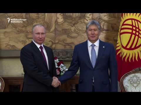 Putin Discusses Future Of Russian Base In Kyrgyzstan