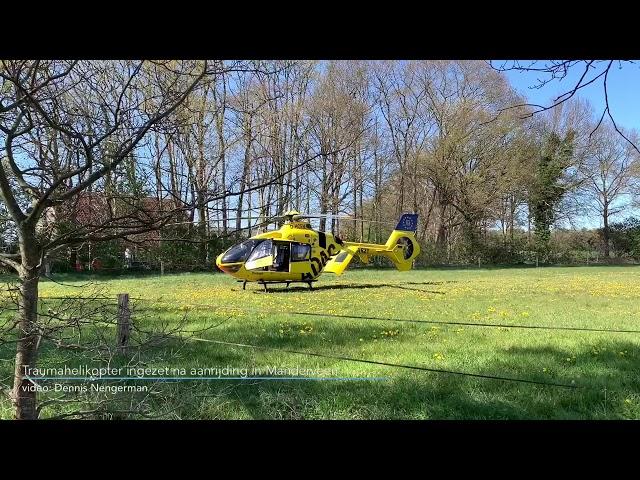 Traumahelikopter ingezet bij ernstig ongeval in Manderveen