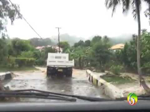 Flooding In Saint Patrick Grenada  | November 2016|