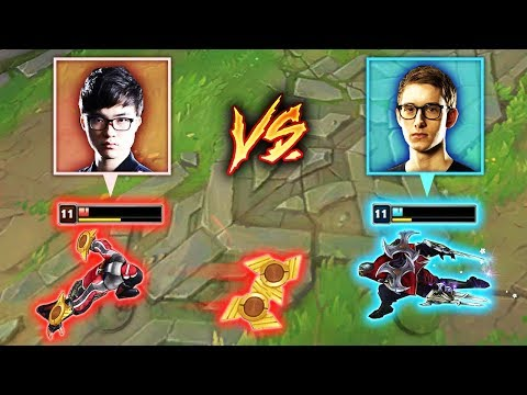 FAKER vs BJERGSEN - Two Legends Go Head-To-Head