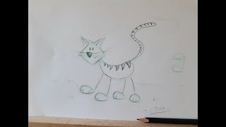 How Anyone Can Draw a Cat! And a look at my new studio space