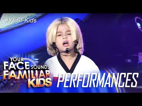 Your Face Sounds Familiar Kids: Xia Vigor as Aaron Carter- Crush On You