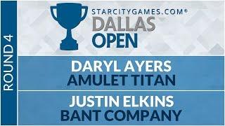 SCGDFW - Round 4 - Daryl Ayers vs Justin Elkins [Modern]