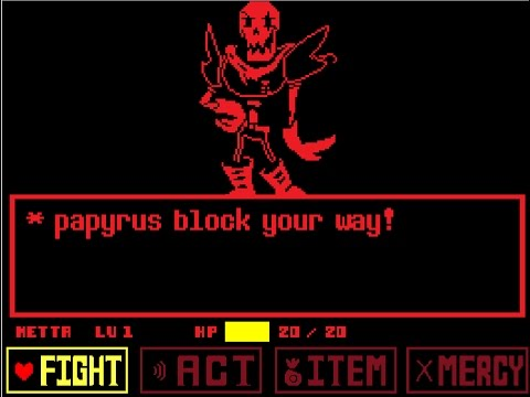 Fight Underfell Papyrus [Scratch]