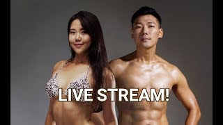 LIVESTREAM WITH HUGH AND HIS TRAINER YOOJIN: Q&A plus MUKBANG