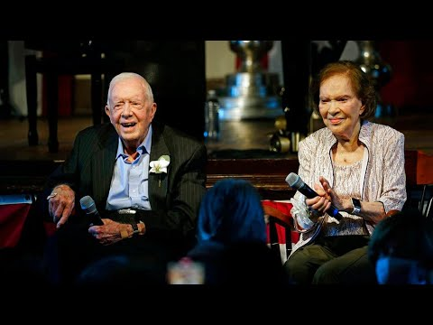 Jimmy and Rosalynn Carter mark 75 years of marriage with party for ...
