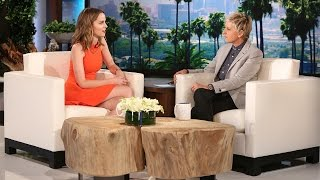 Bridgit Mendler Catches Up with Ellen