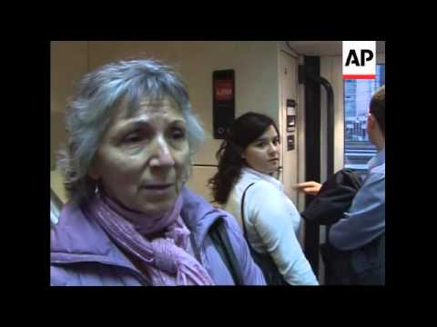 Commuters comment at Atocha station on day of Madrid bombings verdict