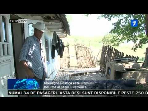 Ultimul locuitor într-un sat părăsit din Moldova!