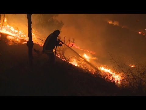 Israel wildfire burning out of control