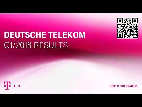 Deutsche Telekom's Q1-2018 investor conference call