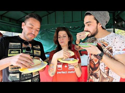 Los mejores tacos de milanesa FT BERTH OH! @JuanBertheau y @dacostacristina