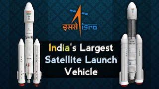 GSLV Mk3 - Launch Vehicle Mark 3(GSLV-III) | Gaganyaan Mission Launch Vehicle GSLV Mark 3 Animation