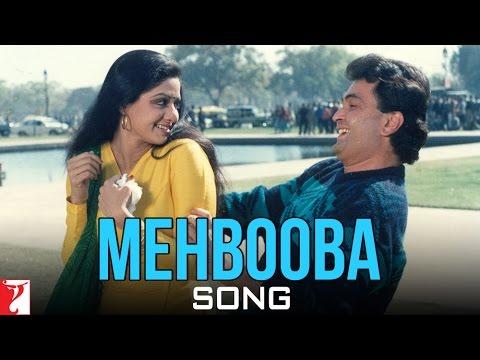 Mehbooba Song | Chandni | Sridevi | Rishi Kapoor | Lata Mangeshkar | Vinod Rathod