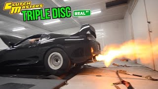 TRC Supra - Clutch Master Triple Disc Clutch Install And Dyno - Real Street Performance