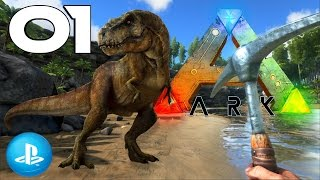 Ark Survival Evolved Ps4 #01 Alpha Raptor des Todes