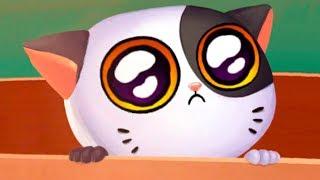 СИМУЛЯТОР КОТЕНКА МИМИТОС #1 My Virtual cat Mimitos 2 - Кид играет в НОВОЙ игре про котенка с улицы