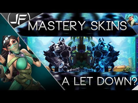 Paladins- Mastery Skins Disappointing?