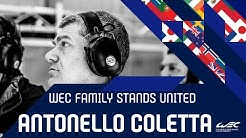 The WEC family stands united: Antonello Coletta