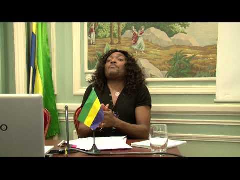 Gabon - landry alias lanlaire - Conférence du 7 mars 2015   Partie1/3