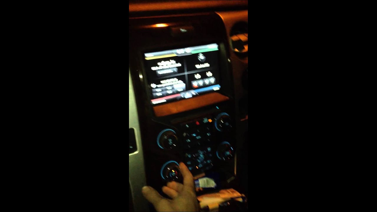 Ford Problems Sync Climate Control