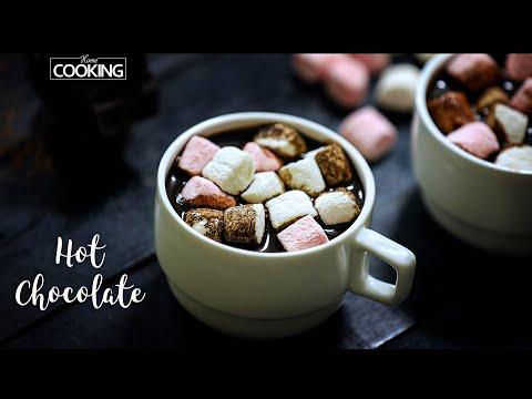 Hot Chocolate with Marshmallow | Homemade Hot Chocolate
