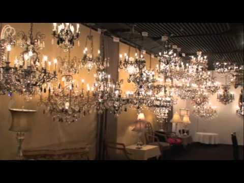 Schonbek crystal chandelier showroom youtube schonbek crystal chandelier showroom aloadofball Image collections