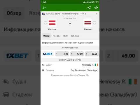 Прогноз на матч Австрия - Латвия