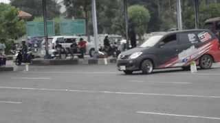 Avanza Slalom Dwi WST bogor @Ngabuburit Slalom Terminal Pasir Hayam Cianjur 2014