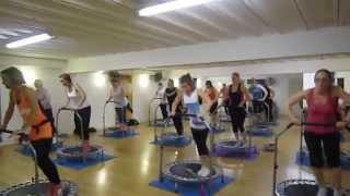 Aerofunk: Rebounding Fitness Class - Wednesday 9th April 2014 YouTube Videos