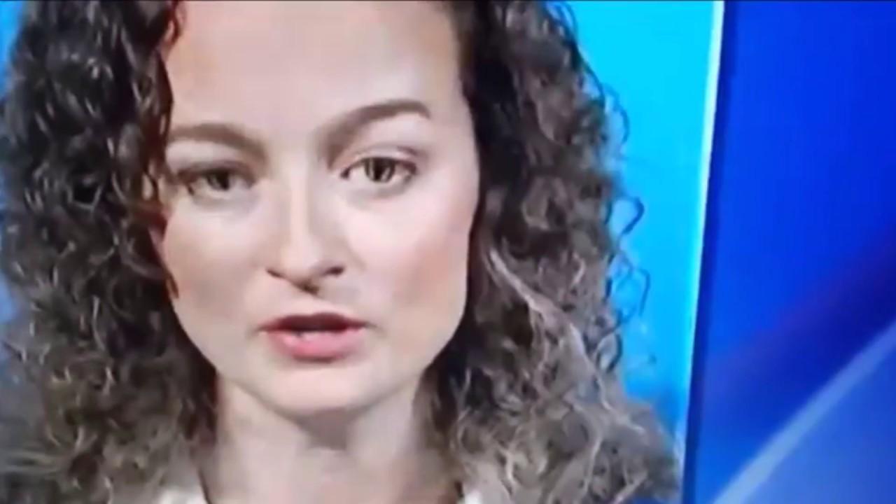Przerażająca transformacja kobiety w telewizji na żywo?