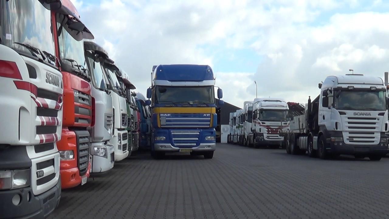 Auta z Niemiec #13/07/2017: Volvo z przyczepką /Holandia/