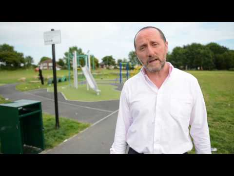 Walsall North MP Eddie Hughes speaks over mess left by travellers