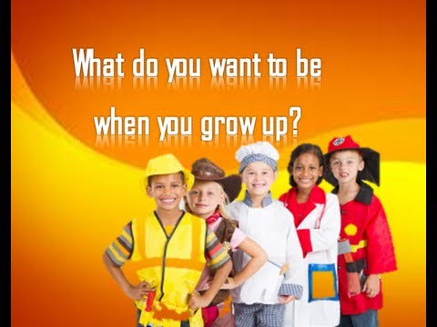 Bilderesultat for what do you want to be when you grow up