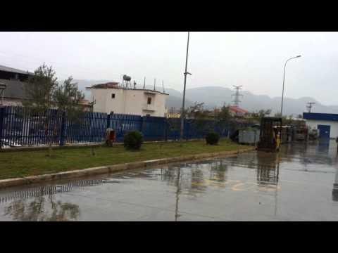Snowing in Tirana 14 december