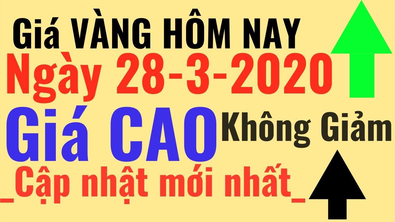 Giá VÀNG ngày Hôm Nay 28/3 Giá CAO vàng Bảo Tín Minh Châu SJC 24k Ý Mi Hồng 9999 online trực tuyến
