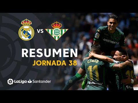 Resumen de Real Madrid vs Real Betis (0-2)