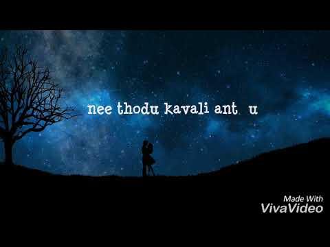 Nuvvila okasaarila | Lyrical Video Manasaara Telugu Movies