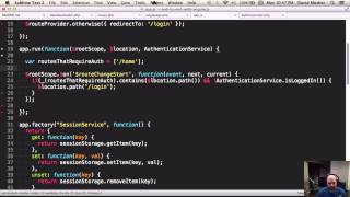 End to End with Angular JS
