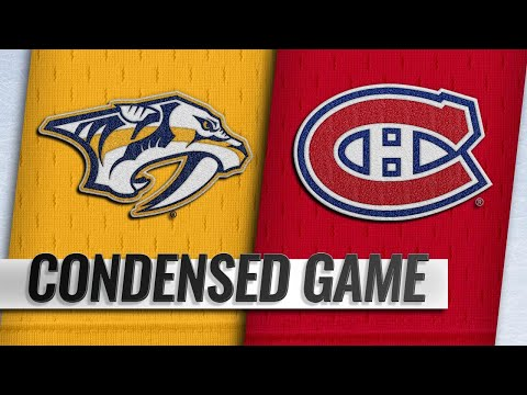 01/05/19 Condensed Game: Predators @ Canadiens