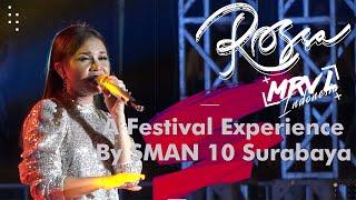 ROSSA - TAK SANGGUP LAGI LIVE IN FESTIVAL EXPERIENCE SMA NEGERI 10 SURABAYA