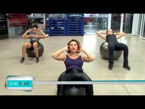 Por Você - Atividade Física: Exercícios com bola 07/07/18