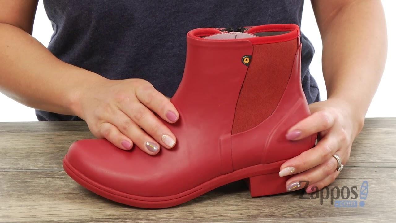 9bd320e3659e Bogs Auburn Slip-On Boot Rubber SKU  8982382 - YouTube