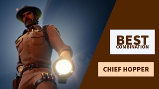 Best Combos | Chief Hopper | Fortnite Skin Review