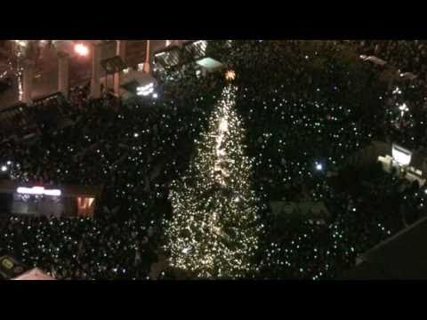 Countdown to actual lighting of Christmas tree!  Portland Oregon terrorism plot thwarted by FBI